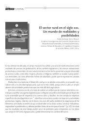 El sector rural en el siglo xxi. Un mundo de realidades y posibilidades