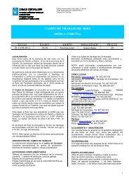 CAMPO DE TRABAJO DE ROIS (ROIS-A CORUÑA) - Xunta de Galicia