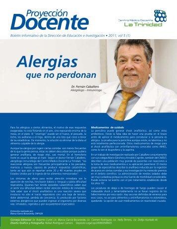 Alergias - Centro Médico Docente La Trinidad