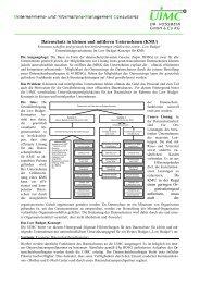 Datenschutz in kleinen und mittleren Unternehmen (KMU)