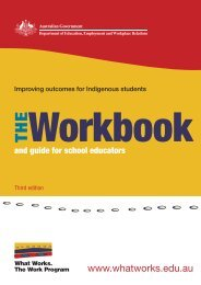 The Workbook - What Works