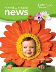 Network & Provider News Summer 2011 - Lovelace Health Plan