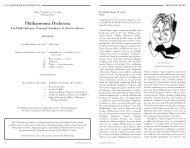 Philharmonia Orchestra - Cal Performances