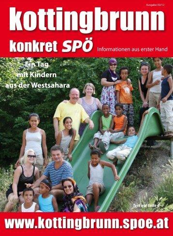 Betreutes Wohnen ein wichtiges Projekt für ... - SPÖ Kottingbrunn