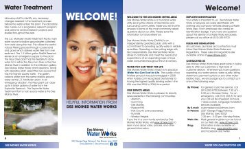 information - Des Moines Water Works