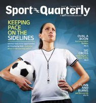 keepiNg paCe oN the SideliNeS - Sport Nova Scotia