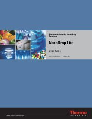 NanoDrop Lite User Guide