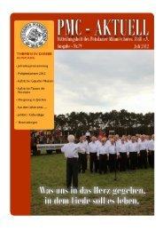 PMC-Aktuell Ausgabe 79/ Juli 2012