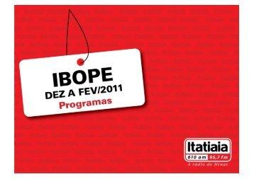 Outros Programas - Rádio Itatiaia