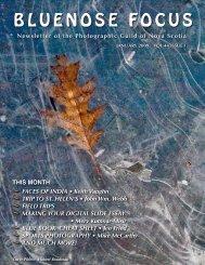 January 2009 - Photographic Guild of Nova Scotia