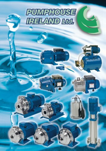 PUMPHOUSE IRELAND Ltd. - Consolidated Pumps