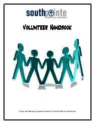 Volunteer Handbook - Andy's Web Tools