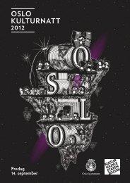 Program 2012 (PDF) - Oslo kulturnatt
