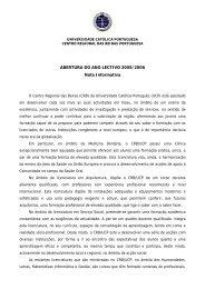 Viseu, 09 de Julho de 2003 - Universidade Católica Portuguesa