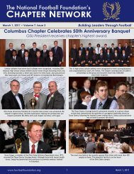 Volume 7, Issue 3 - The National Football Foundation