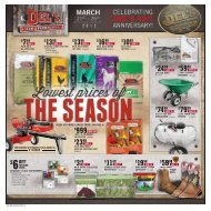 15% - Del's - Feed And Farm Supply