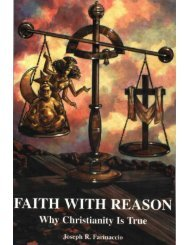 Faith with reason: Why Christianity is true