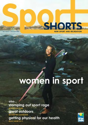 Sportshorts Vol 7 Issue 2 - December 2006 - NSW Sport and ...