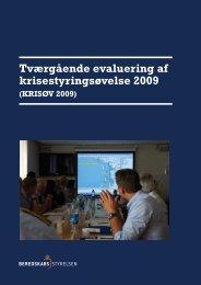 KRISØV 2009 - Beredskabsstyrelsen