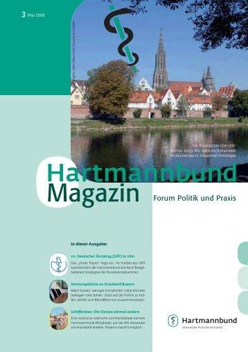 3 Mai 2008 - Hartmannbund