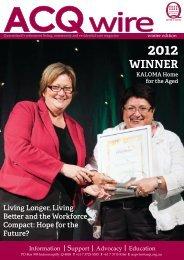 WINNER - Leading Age Services Australia - Queensland is the peak ...