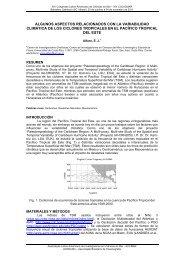 algunos aspectos relacionados con la variabilidad climática de los ...