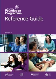 The Foundation Programme Reference Guide - Academy of Medical ...