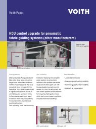 HDU control upgrade for pneumatic fabric guiding systems ... - Voith