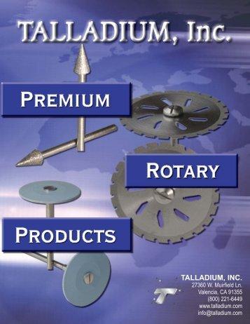 Rotary Catalog - Talladium, Inc.