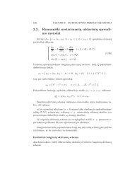 3.3. Ekonomiški nestacionarių uždavinių sprendi- mo metodai