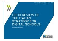 Fisciano_OECD Review of The Italian Strategy for Digital Schools