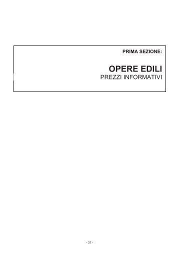 OPERE EDILI - Camera di Commercio di Forlì-Cesena