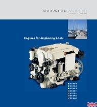 Engines for displacing boats - Volkswagen Marine