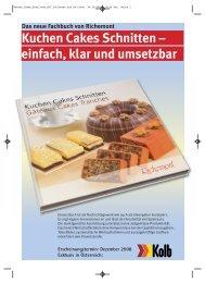 Kuchen cakes schnitten xp7 2:kitchen Aid A4 Pitec