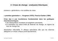 Crises de change - Jean-Baptiste Desquilbet