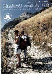 Julij-Avgust - Planinski Vestnik
