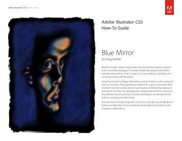 Blue Mirror - Adobe