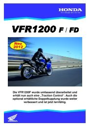 VFR1200 F / FD - Walter Coenen Gruppe