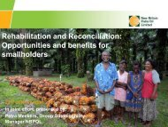 Opportunities and Benefits for Smallholders - RT9 2011