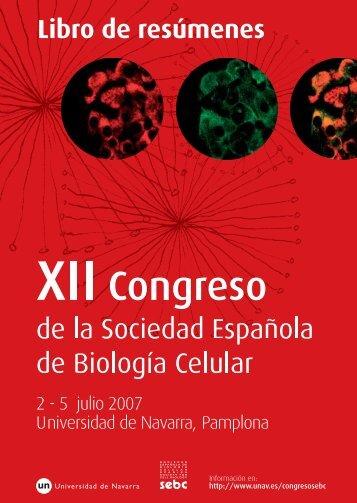 Libro de resúmenes del XII Congreso de la - Universidad de Navarra