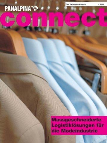 Massgeschneiderte Logistiklösungen für die Modeindustrie