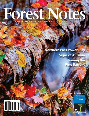 Autumn 2011 issue - Society for the Protection of New Hampshire ...
