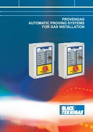provengas automatic proving systems for gas ... - Black Teknigas