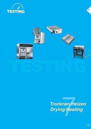 Trocknen/Heizen Drying/Heating