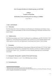 Anhang 4 Vorgaben zur Beprobung (Probenahme ...