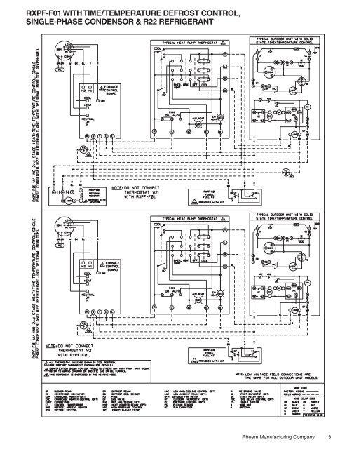 rheem rhll wiring diagram rxpf f01 wiring diagram  fossil fuel kit  rev 6 rheemote net  rxpf f01 wiring diagram  fossil fuel