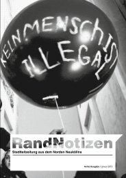 RandNotizen - Nachrichten aus Nord-Neukölln - Blogsport