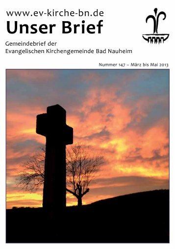 Download - Evangelische Kirchengemeinde Bad Nauheim