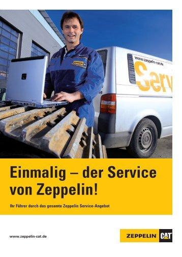 Einmalig – der Service von Zeppelin! - Zeppelin Baumaschinen GmbH