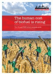 Biofuels Campaign Guide - ActionAid
